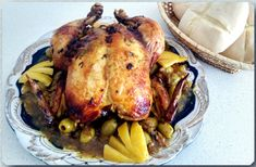 reteta de pui cu sos de ceapa - الدجاج محمر على الطريقة المغربية