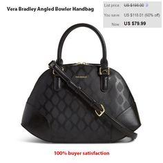 99781f7ec7b2 Vera Bradley Angled Bowler Handbag  VeraBradley  AngledBowler