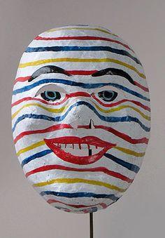 ECUADOR   Ecuadorian Huaco mask, masks from Ecuador