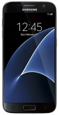 New In Box Verizon Samsung Galaxy Black Smartphone Galaxy S7, Samsung Galaxy, Cell Phone Store, T Mobile Phones, Smartphone, Phone Companies, Verizon Wireless, Light Sensor, Card Reader
