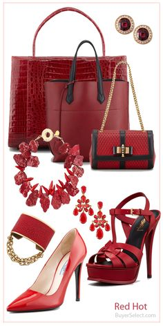 i love the things Red colour's
