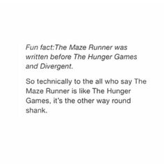 BOOYAHHHHHHH HUNGER GAMES AND DIVERGENT KNOWITALLS!!!!!!!!!!!!!!!! I like hunger games and all but when you insult my fandom it's going downnnnnn