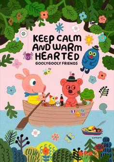 롯데갤러리 광복점, goolygooly friends展 개최 Baby Wallpaper, Pattern Wallpaper, Book Design Layout, Baby Art, Illustrations And Posters, Children's Book Illustration, Conte, Painting Patterns, Cute Drawings