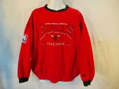 Vintage Lee Sport NBA Chicago Bulls Sweatshirt XL #LeeSport #ChicagoBulls