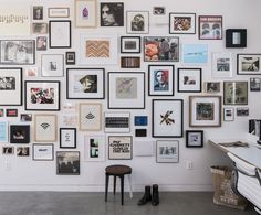 Amazing gallery wall