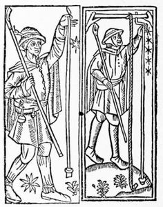 Agricultural labourers, early 16th century woodcuts