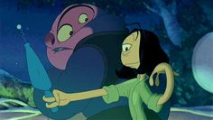 Jumba & Pleakley. Lilo & Stitch. If you don't think that they're a couple then you are dead wrong