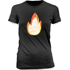 """Black """"FIRE"""" T-Shirt $24"""