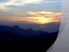 Puesta de sol 12 de octubre del 2012,en Tejeda,Gran Canaria,España.