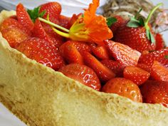 tarte de morango
