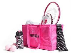 For the sports super star! New Bring-a-Bottle Thermal,  Large Utility Tote & Varsity Scarf.