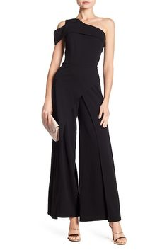 56fff03882e Image of Marina One-Shoulder Cutout Jumpsuit One Shoulder Jumpsuit