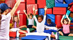 Flame Retardant Chemicals Found in Tumbling Mats and Landing Pits | Considering gymnastics classes or camp for your child? You'll want to read this.