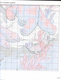 Schema punto croce Orso Bianco 2