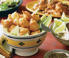 Buñuelitos de Maiz (Corn Fritters) by Fine Cooking