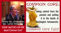 COMMON CORE: Sen. Lamar Alexander's continued attempts to change the subject - Allen West Republic