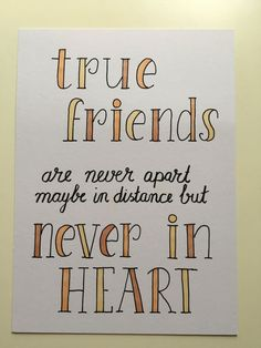 Bff Quotes, Best Friend Quotes, Friendship Quotes, True Quotes, Words Quotes, Calligraphy Quotes Doodles, Brush Lettering Quotes, Doodle Quotes, Abc Letra