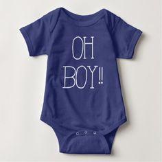 OH BOY! BABY BODYSUIT - toddler youngster infant child kid gift idea design diy