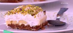 Εκμέκ με τσουρέκι Cheesecake, Greek, Pudding, Desserts, Food, Tailgate Desserts, Deserts, Cheesecakes, Custard Pudding