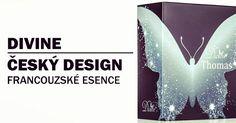 Český design, francouzske esence - to je Divine #divine #parfum #kosmetika #parfemy #design