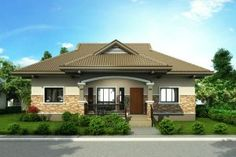 Bungalow house plans in india with ranch craftsman style house plans with contem.Bungalow house plans in india with ranch craftsman style house plans with contemporary house doors and craftsman also craftsman house plans with angled Modern Bungalow House Design, Simple House Design, Home Design, Bungalow Designs, Modern Houses, Design Ideas, One Storey House, House Design Pictures, Storey Homes