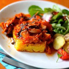 Meatless Monday : Autumn Meal. Use cauliflower rice instead of starch for a low carb meal...