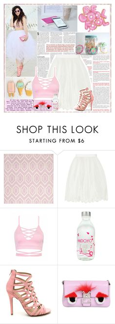"""""""Untitled #610"""" by sofi288 ❤ liked on Polyvore featuring Safavieh, Ted Baker and Fendi"""