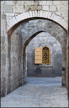 Armenian Orthodox Patriarchate road . Jerusalem