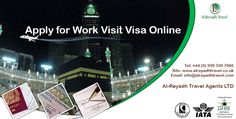 Apply for Work Visit Visa online for your work purpose. Contact us for more details.