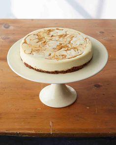 Martha Stewart Living's Favorite Cheesecake Recipes: Pumpkin-Swirl Cheesecake