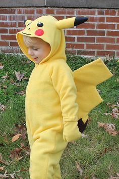 Kids Pikachu Costume - Side View | Flickr - Photo Sharing!