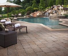 Turn your backyard into an outdoor oasis #MegaBergeracPaver
