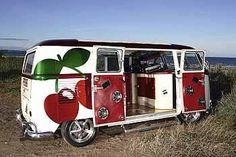 """Love the """"Old School"""" van..just not the cherries on it.."""