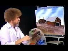 Bob Ross Season 6 Episode 10 Country Life The Joy of Painting Bob Ross Painting Videos, Bob Ross Paintings, Oil Painting Lessons, Painting & Drawing, Painting Canvas, Peintures Bob Ross, Robert Ross, Bob Ross Quotes, Bob Ross Art
