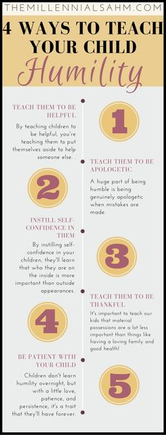 After a whole lot of brainstorming and a little trail and error, I've discovered a few super easy ways that you can use to teach your little ones humility. Parenting, Motherhood, Parenting Advice, How To Teach Children