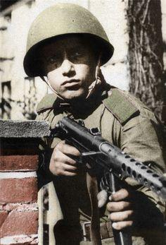 Soviet soldier 1945