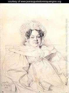 Madame Louis-Francois Bertin - Jean Auguste Dominique Ingres - www.jeanaugustedominiqueingres.org
