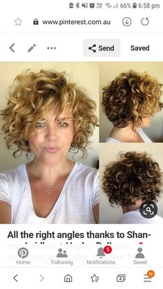 Pin on Curly hair Here are 20 short curly cuts for stylish ladies to give you inspiration for your next hairstyle! Thin Hair Cuts, Curly Hair Cuts, Wavy Hair, Curly Hair Styles, Short Curly Hairstyles For Women, Haircuts For Curly Hair, Mom Hairstyles, Great Hair, Hair Lengths