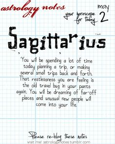 Sagittarius Astrology Note: Do you know what your ascendant is?  Visit iFate.com Astrology today!