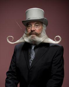 Evil Victorian inventor beard
