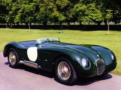 Jaguar c-type (Color: British Racing Green) Id make a few changes but the color makes this car