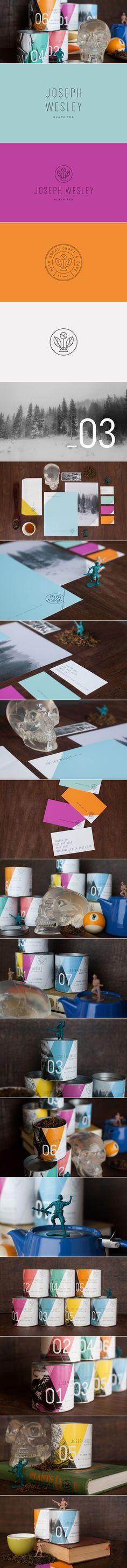 Joseph Wesley Black Tea — The Dieline | Packaging & Branding Design & Innovation News