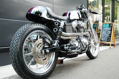 custom harley cafe | Eleanor Harley Davidson Cafe Racer ~ Return of the Cafe Racers