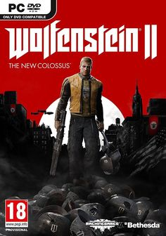 Wolfenstein II: The New Colossus (PC/DVD) - NEW PAL SEALED
