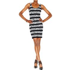 Bar III Womens Textured Animal Print Party Dress