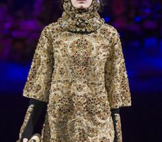 #dolce #gabbana #jeweled #runway #fashion #byzantine #couture