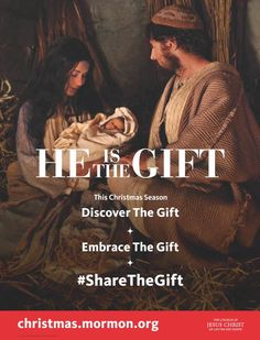 "LDS Christmas Invitation: ""He is the Gift"" Video"