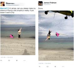 Guy Who Takes Photoshop Requests Literally Hilariously Strikes Again. Guy Who Takes Photoshop Requests Literally Hilariously Strikes Again Funny Photoshop Fails, Funny Photoshop Pictures, Photoshop Help, Funny Pictures, Photoshop Actions, Troll, Photo Humour, James Fridman, Funny Memes