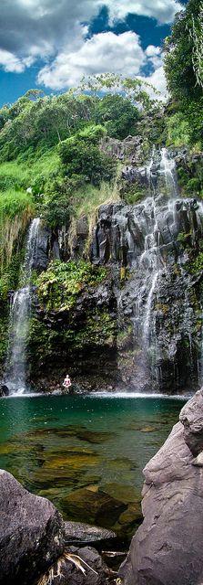 Blue Angel Fall, Maui Hawaii