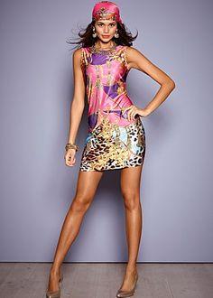 vestido exotico